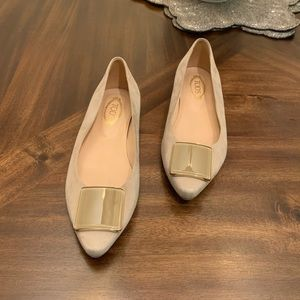 Tod's women's loafers flats shoes